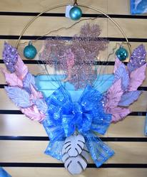 Fancy Sea Horse Wreath