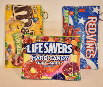 Upcycled Candy Bags