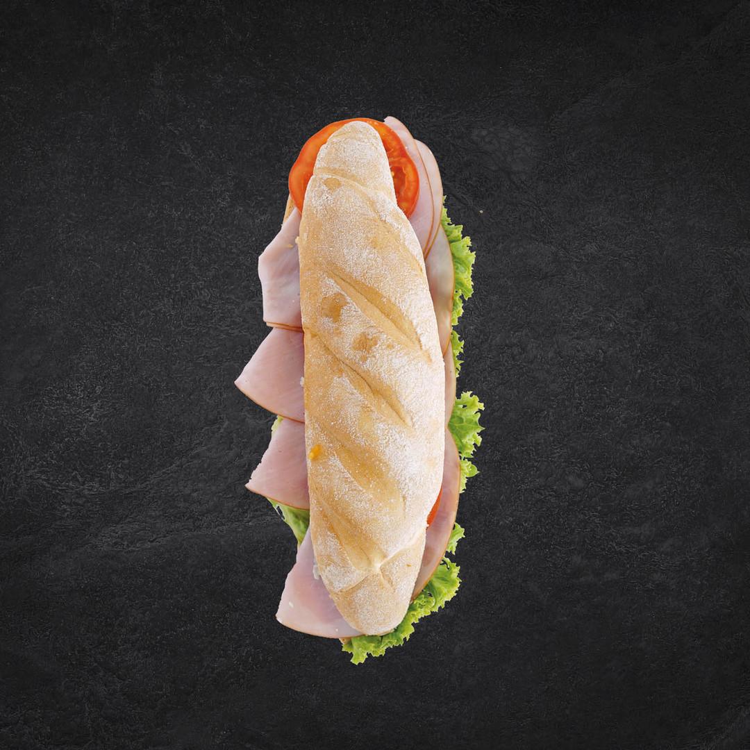 Sandwich mit Burgunderschinken