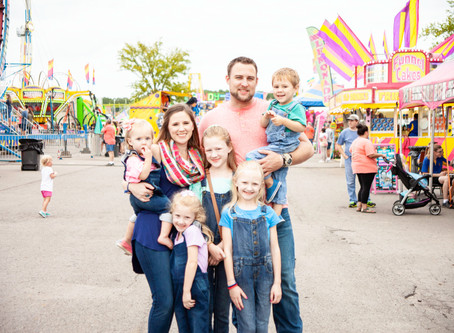 Wilson County Fair | Wehmeyer Family Session