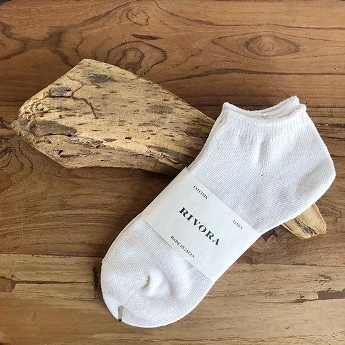 Linen Cotton Ankle Socks