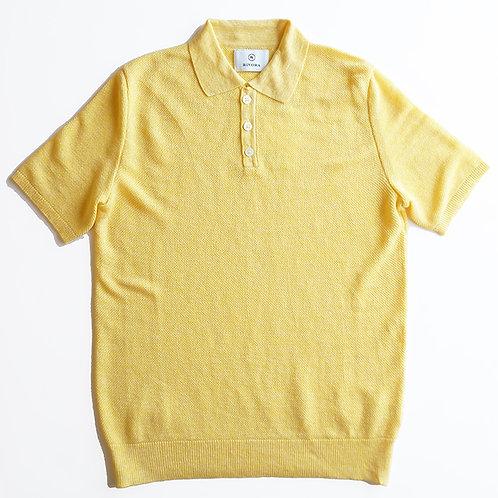 Tuck Kanoko Knit Polo Shirts