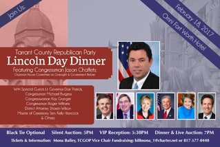 2017 Lincoln Day Dinner