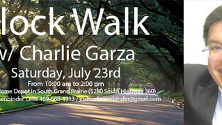 Block Walk with Charlie Garza