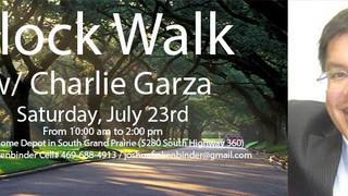 Block Walk with Charlie Garza