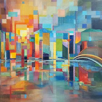 A Pixelized Rainbow. One View of Vancouver, AJ Vittie.jpg