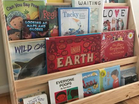 A Montessori Home Tour: Kristin of O E and Me