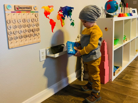 A Montessori Home Tour: Nani of @nani.skinner