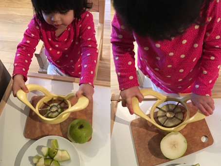 Practical Life for Toddlers: Meal Prep
