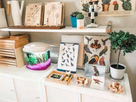 A Montessori Home Tour: Michelle of @micbranton