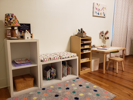 A Montessori Home Tour: Maggie of The Little Flowers School