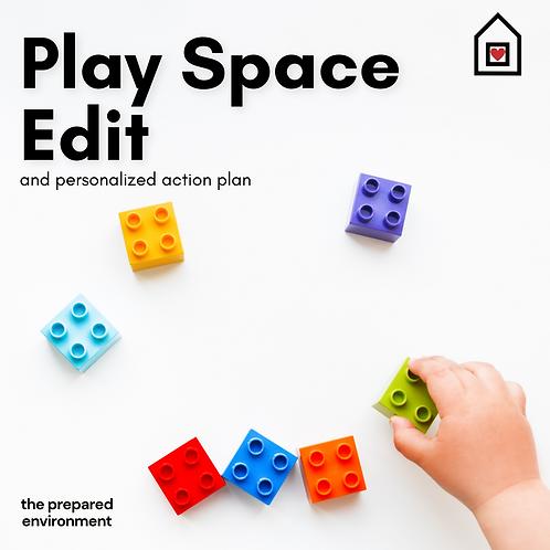 Virtual Play Space Edit & Plan