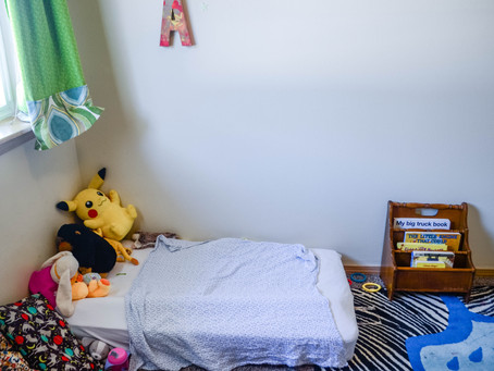 A Play-Based, Child-Led Home Tour: Amber of The Playful Learner