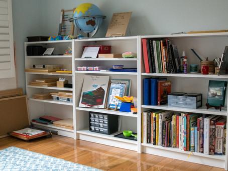 A Montessori Home Tour: Elisabeth of McHomeschool