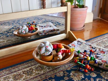 A Montessori Home Tour: Caroline of @budding. and. blossoming