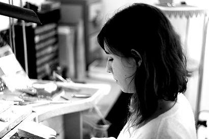 Yaëlle Moreau, créatrice de bijoux e argent srAix-en-Provence