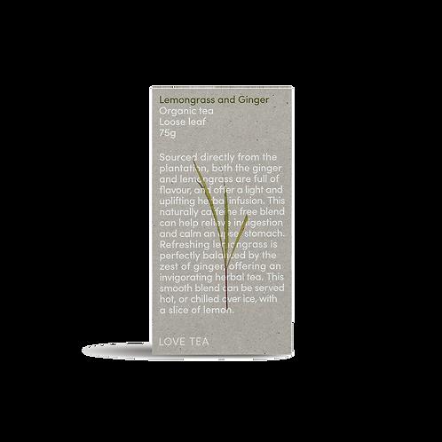 LOVETEA Lemongrass & Ginger