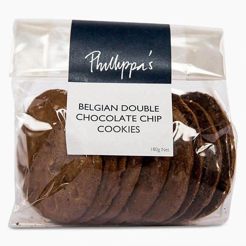 Phillippa's Belgian Chocolate Chip Cookies