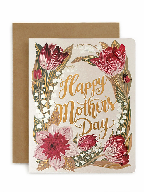 Bespoke Press Greeting Card Mother's Day