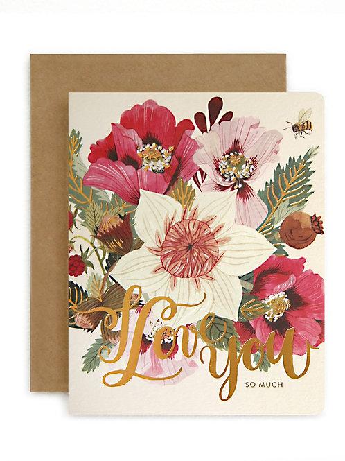 Bespoke Press Greeting Card Love