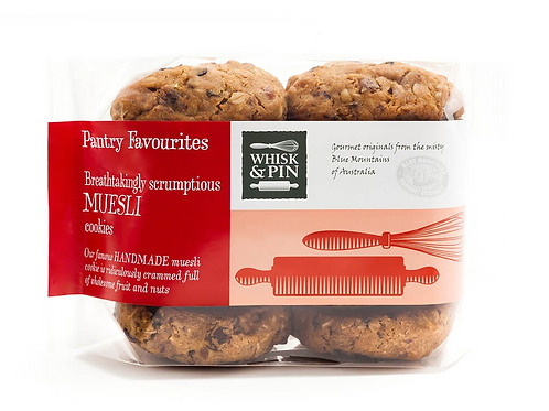 Whisk & Pin Muesli Biscuits