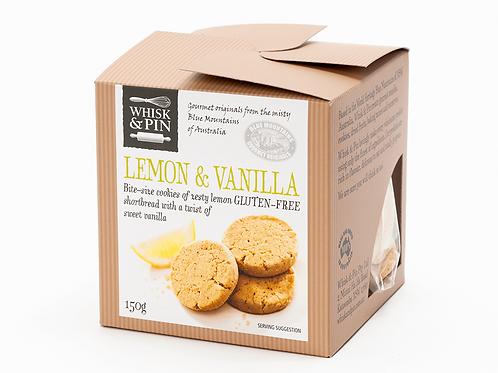 GF Lemon & Vanilla Shortbread