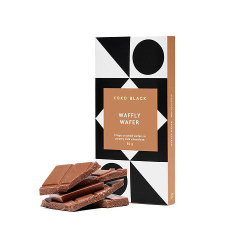 Koko Black Waffly Wafer Block