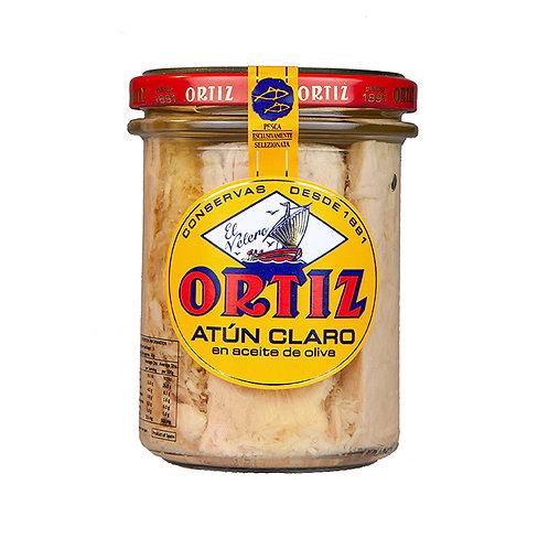 Ortiz Yellowfin Tuna in Olive Oil Jar