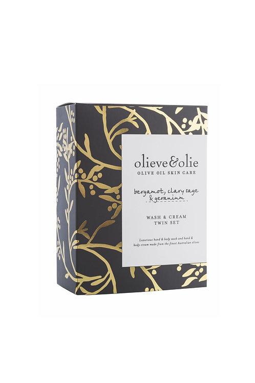 Olieve & Olie Wash & Cream Twin Set