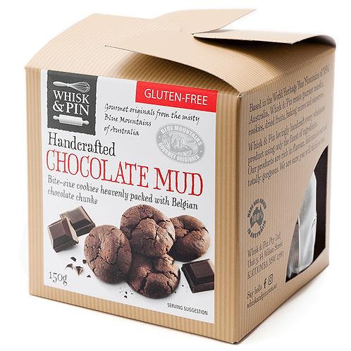 GF Choc Mud Cookies - Bite Size