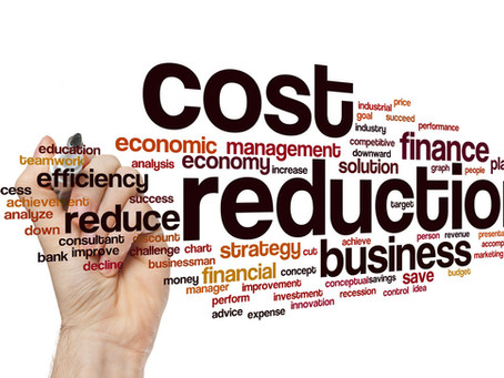 Leveraging cost reduction technique in functional departments