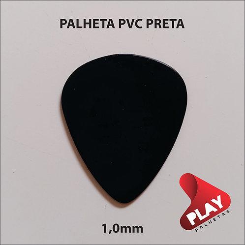 PALHETA PVC STANDART PRETA 1,0 mm