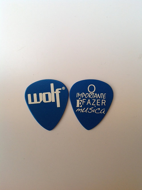 Wolf - O importante é fazer música  (azul)