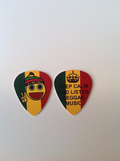 Keep Calm and Listen reggae Music
