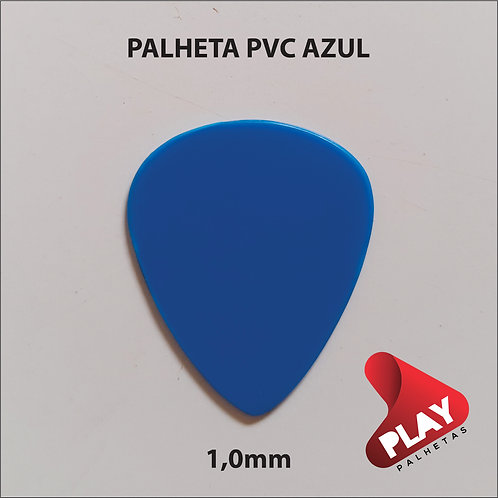 PALHETA PVC STANDART AZUL 1,0 mm
