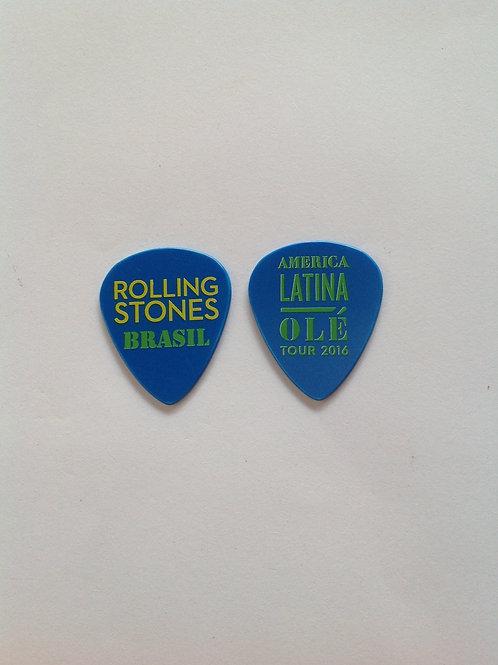 Rolling Stones - olé Tour 2016 -  Azul