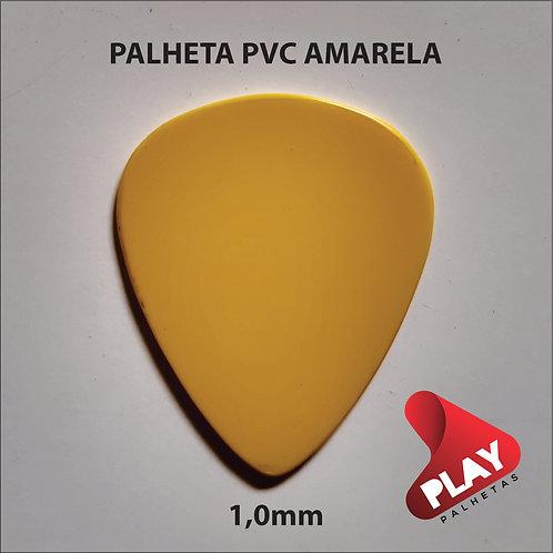 PALHETA PVC STANDART AMARELA 1,0 mm