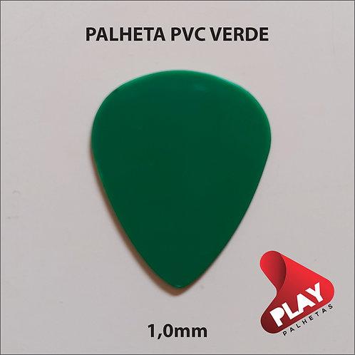 PALHETA PVC STANDART VERDE 1,0 mm
