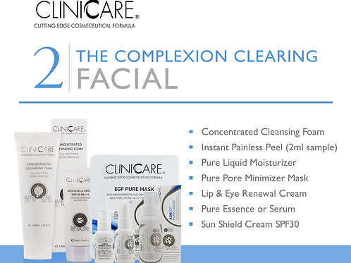 Complexion Clearing Facial Sample Kit