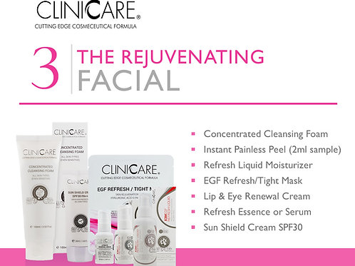 Rejuvenating Facial Sample Kit