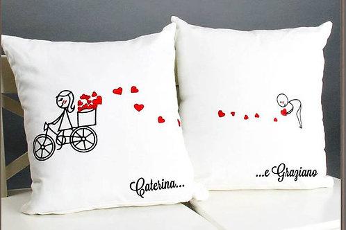 Cuscino Love Coppia