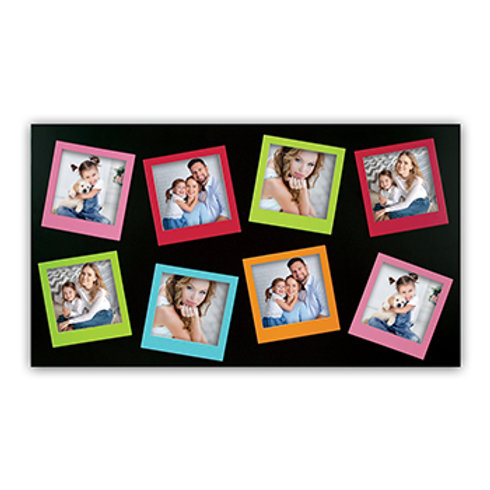Cornice Multi Polaroid 8 posti