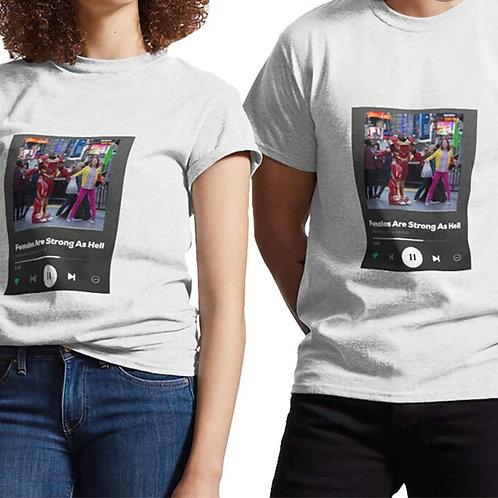 Spotify T-Shirt Bianca