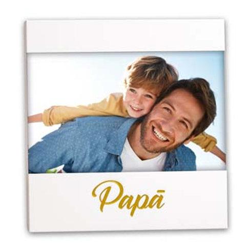 Cornice Papà scritta oro