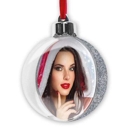 Pallina di Natale Glitter