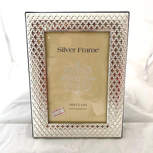 Cornice Silver Rilievo Moderna