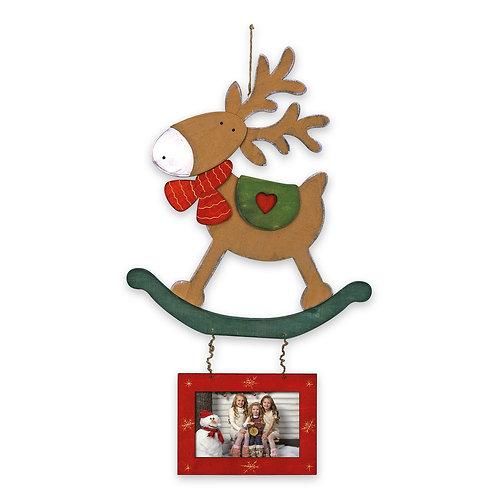 Ghirlanda di Natale in legno KH89