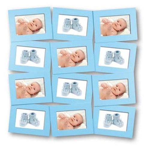 Cornice Legno Multi Frame Bimbi 12 foto