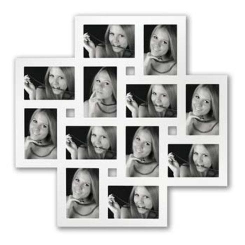Cornice White  Muti legno 12 foto