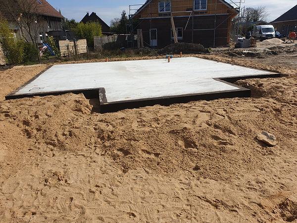Bitumenvoranstrich Bodenplatte